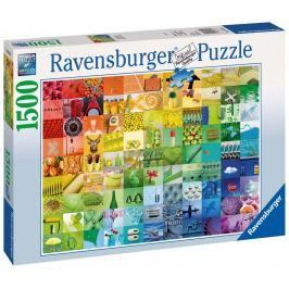 RAVENSBURGER - 99 barev 1500 dílků