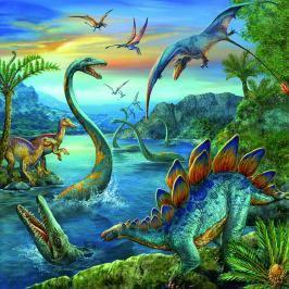RAVENSBURGER - Dinosauři 3 X49D