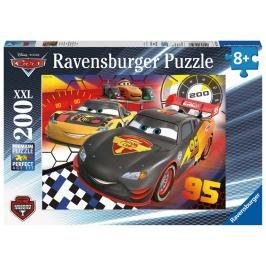 RAVENSBURGER - Disney Auta - závod 200 XXL dílků