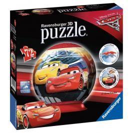 RAVENSBURGER - Disney Auta 3 puzzleball 72 dílků