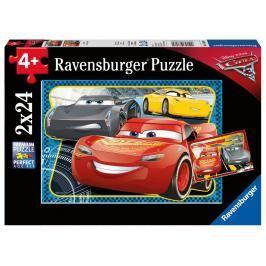 RAVENSBURGER - Disney Auta 3: Můžu Vyhrát! 2X24 Dílků