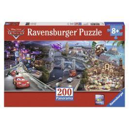 RAVENSBURGER - Disney Auta Panorama 200D