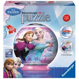 RAVENSBURGER - Disney Ledové království Puzzleball 108D