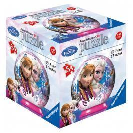 RAVENSBURGER - Disney Ledové království puzzleball 54 dílků, dis. 12ks