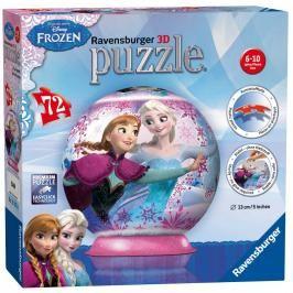 RAVENSBURGER - Disney Ledové království puzzleball 72 dílků