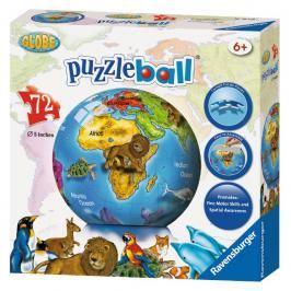 RAVENSBURGER - Glóbus Puzzleball 72D