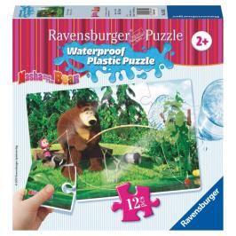 RAVENSBURGER - Máša a Medvěd 12 plast. dílků II