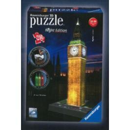 RAVENSBURGER - Puzzle 3D Ravensburger Big Ben - noční edice 216