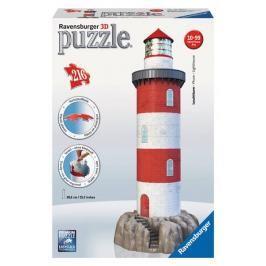 RAVENSBURGER - Puzzle 3D Ravensburger Maják v příboji 216