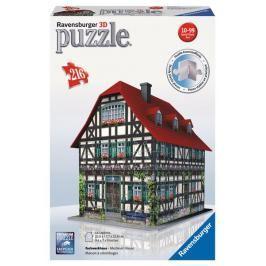 RAVENSBURGER - Puzzle 3D Ravensburger Středověký dům 216