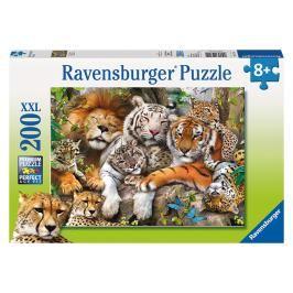 RAVENSBURGER - Velká kočka, 200 dílků