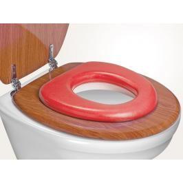 REER - WC redukce soft, červená