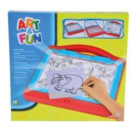 SIMBA - Art & Fun kreslící tabulka světelná