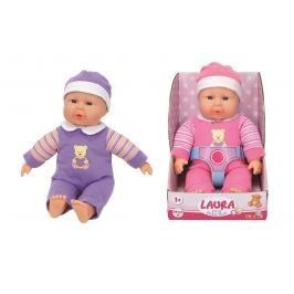 SIMBA - Panenka Laura First Baby Doll 30 Cm, 2 Druhy