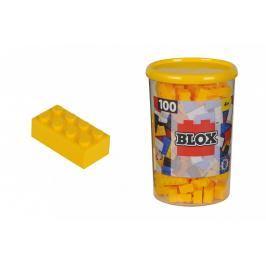 SIMBA - Blox 100 Kostičky žluté v boxu
