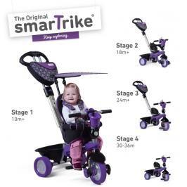SMART TRIKE - tříkolka 159 Dream Team 4v1 Fialovo-černá