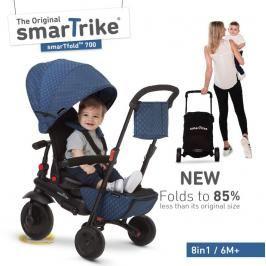 SMART TRIKE - tříkolka 700 Fold 8v1 Modrá