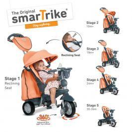 SMART TRIKE - Tříkolka Explorer 5 v 1, oranžová