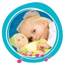 SMOBY - 210106 panenka Minikiss Dou Dou se světlem a melodií