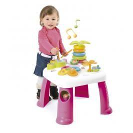 SMOBY - 211170 Cotoons multifunkční stolek stolek se světlem a zvukem, růžový