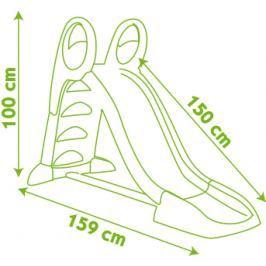 SMOBY - 310262 skluzavka 150 cm s vlhčením