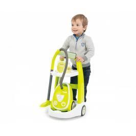 SMOBY - 330301 Úklidový vozík s vysavačem se zvukem