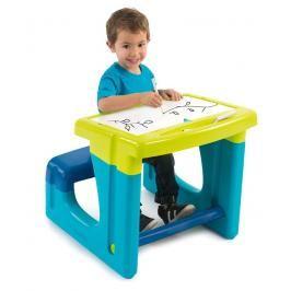 SMOBY - 420101 Školní lavice s tabulí modrá