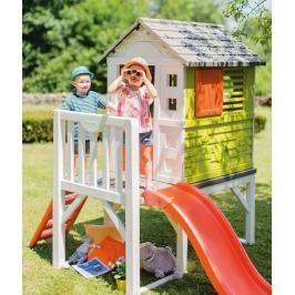 SMOBY - 810800 Domek na pilířích se skluzavkou House on Stilts