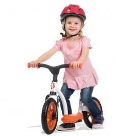 SMOBY - cykloodrážadlo se stojanem oranžové 770103