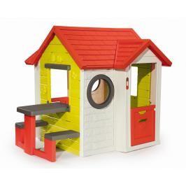 SMOBY - Domeček My House S Piknikovým Stolem