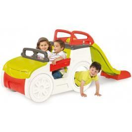 SMOBY - prolézačka Adventure Car s pískovištěm a skluzavkou 840200