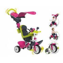 SMOBY - tříkolka Baby Driver Confort růžovo-zelená 741201