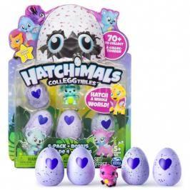 SPIN MASTER - Hatchimals Sběratelská Zvířátka Ve Vajíčku Čtyřbalení S Bonusem S2 Asst.