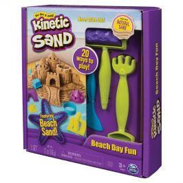 SPIN MASTER - Kinetic Sand Plážová Hrací Sada S Nářadím