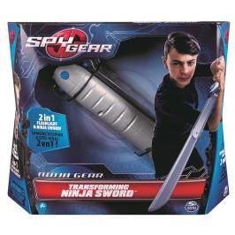 SPIN MASTER - Spy Gear Ninja katana rozložitelná se světlem 33012