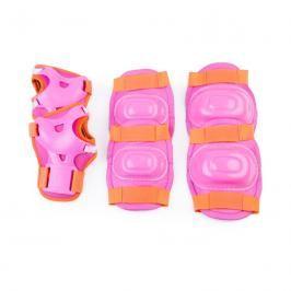 SPOKEY - AEGIS - 3-dílná sada dětských chráničů, růžové, vel. M