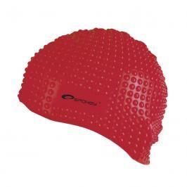 SPOKEY - BELBIN-Plavecká čepice bublinková červená