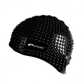 SPOKEY - BELBIN-Plavecká čepice bublinková černá