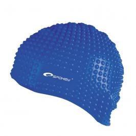 SPOKEY - BELBIN-Plavecká čepice bublinková modrá