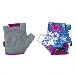 SPOKEY - BLUE GLOVE Dětské cyklistické rukavice dětské  XXS