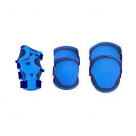 SPOKEY - BUFFER - 3-dílná sada dětských chráničů, modré, vel. S