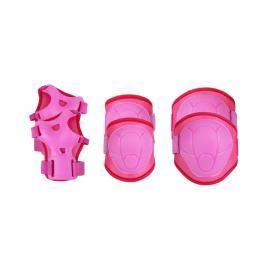 SPOKEY - BUFFER - 3-dílná sada dětských chráničů, růžové, vel. M