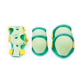 SPOKEY - BUFFER - 3-dílná sada dětských chráničů, zelené, vel. XS