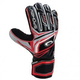 SPOKEY - CONTACT Brankářské rukavice červené č. 10