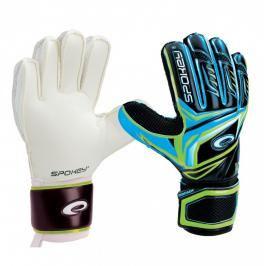 SPOKEY - CONTACT II Brankářské rukavice černo - modrá č. 7