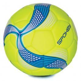 SPOKEY - COSMIC Fotbalový míč ze 100% PU limetkovo-modrý vel.5
