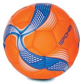 SPOKEY - COSMIC Fotbalový míč ze 100% PU oranžovo-modrý vel.5