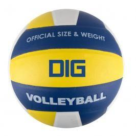 SPOKEY - DIG II Volejbalový míč modro-žlutý vel.5