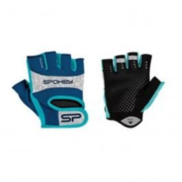SPOKEY - ELENA II Dámské Fitness rukavice  vel.L modro-tyrkysové