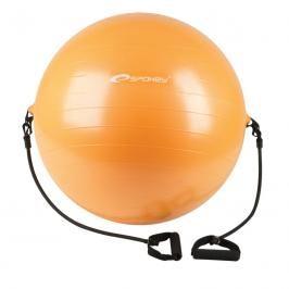 SPOKEY - ENERGETIC - Gymnastický míč s expanderem 65 cm  včetně pumpičky